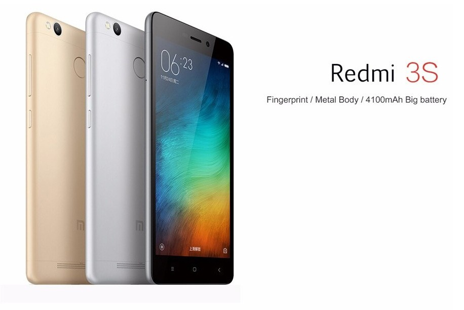 Фото Xiaomi Redmi 3S Mobile Phone