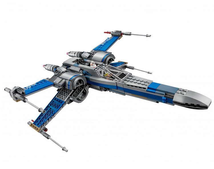 Фото 740PCS NEW LEPIN 05029 Star Wars Rebel X-wing Копия конструктора Lego Resistance X-Wing Fighter от Lepin