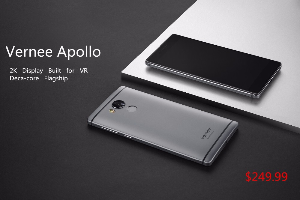 "Фото Vernee Apollo Mobile Phone Helio X25 Deca-Core 5.5"" 2K Display 21.0MP Cell phones 4G RAM 64G ROM 4G"
