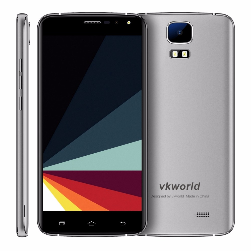 Фото Original VKworld S3 3G Mobile Phones Android 7.0 1GB RAM 8GB ROM Quad Core Smartphone 8MP Camera 5.5 inch Dual SIM Cell Phone