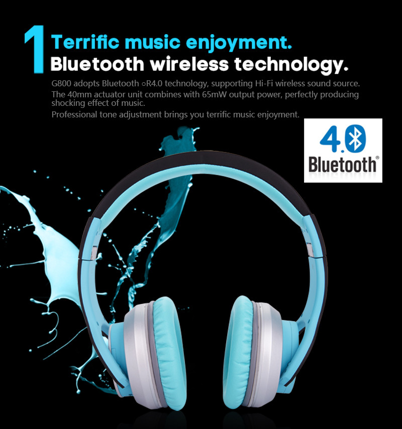 Фото Bluetooth наушники Syllable G800