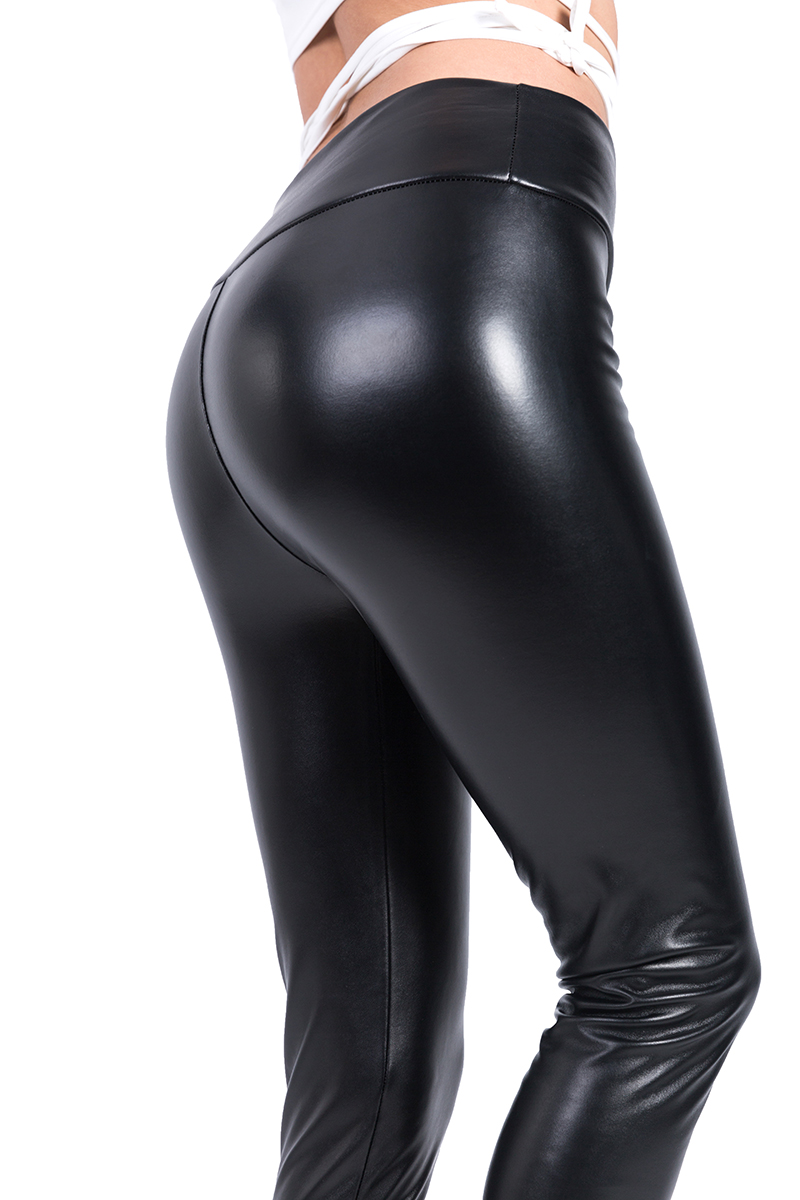 2017 Winter Warm Leggings Thickening Black Leather Leggings High Waist Pants Leggings Casual Warm Solid Faux Leather Leggins