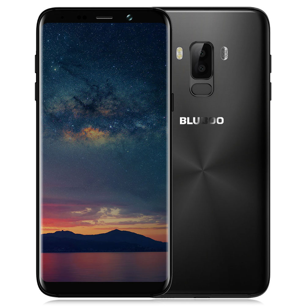 Фото Original BLUBOO S8 Plus 4G Mobile Phone 6.0'' 3D Curved 18:9 Display Android 7.0 Octa Core 4GB+64GB 13MP Dual Rear Cams MTK6750T