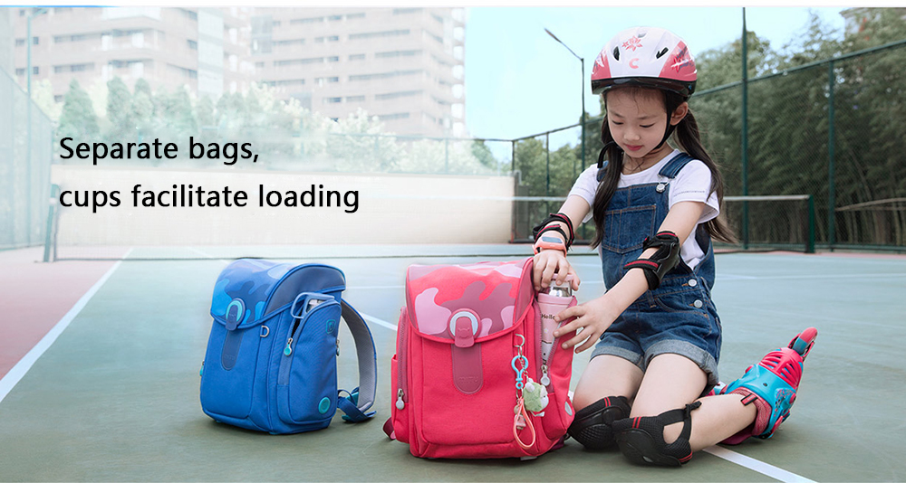 Фото 2017 original Xiaomi Mitu Students Kids Children Backpack School Bag For Teenage Girls Boys 13L Large Capacity Decompression