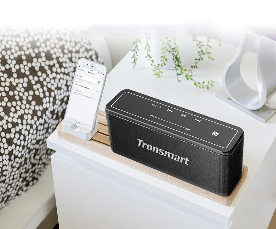 Фото Tronsmart Element Mega Bluetooth Speaker Soundbar Portable Music Wireless Speakers for MP3 Computer Home Theater Support NFC