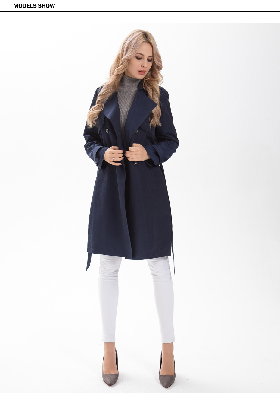 Фото MS VASSA Women  Spring coats size 4XL 6XL Женский плащ.