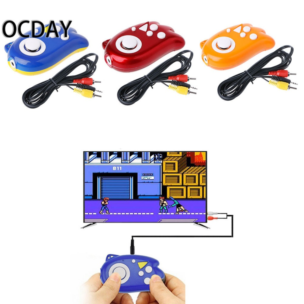 Фото 8 Bit Mini Video Game Console Players Build In 89 Classic Games Support TV Output Plug & Play Game Player Best Gift For children