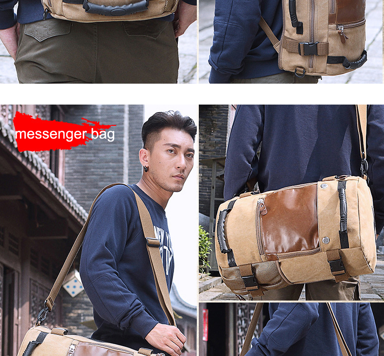 Фото KAKA Brand Stylish Travel Large Capacity Backpack Male Luggage Shoulder Bag Computer Backpacking Men Functional Versatile Bags