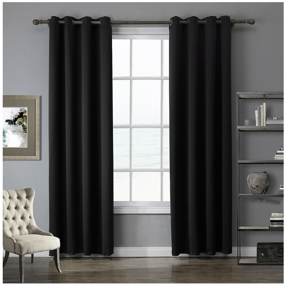 Фото Блэкаут шторы Modern blackout curtains for window treatment blinds finished drapes window blackout curtains for living room the bedroom blinds