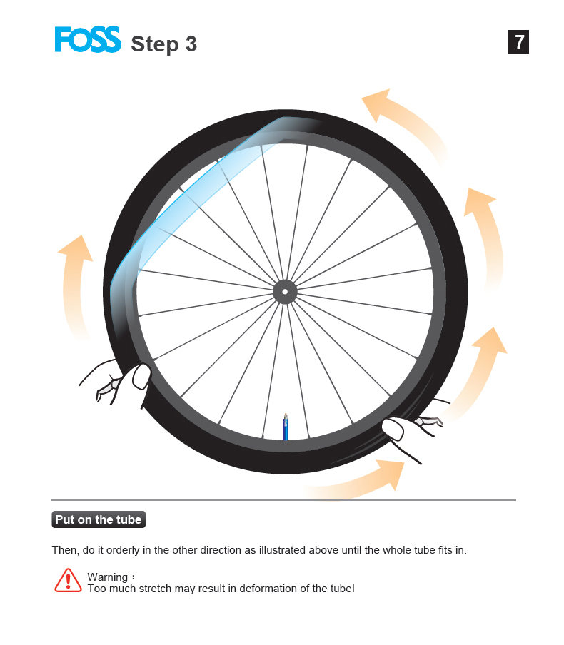 Фото Велосипедная камера FOSS Bicycle Tube Tire 16/20/24/26/27.5/27/700c Road MTB Mountain Bike Inner Tube Rubber Bicycle Tire Tyres Bike Puncture Tire