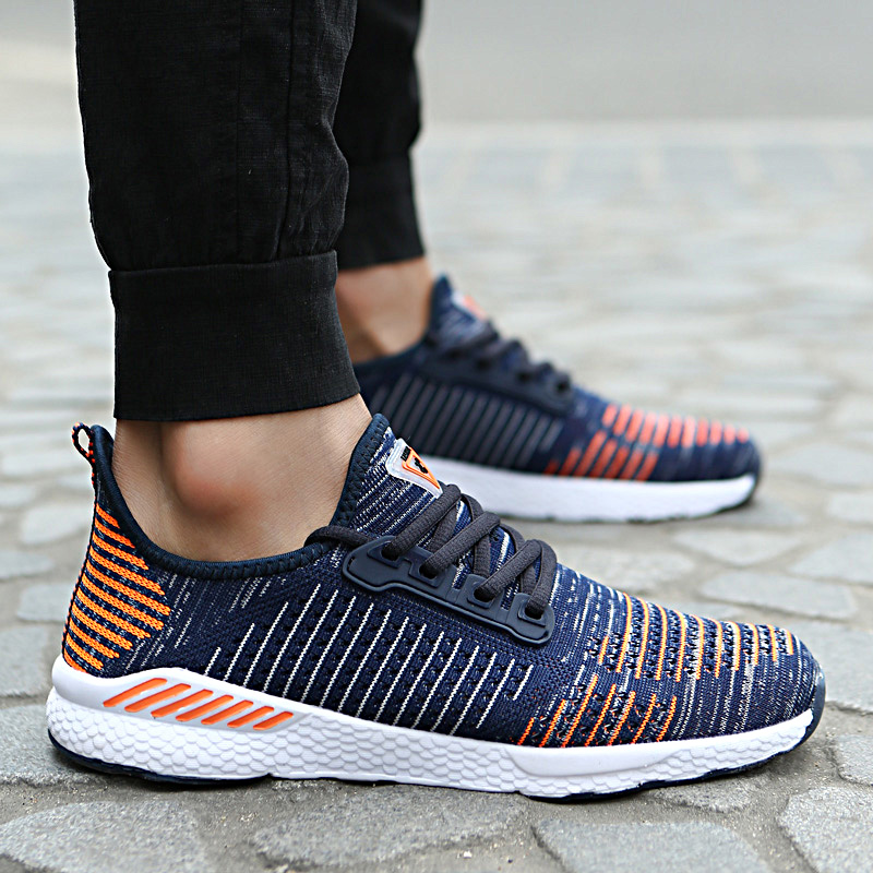 Фото Летние кроссовки в дырочку Bolangdi New Running Shoes for Men Women Outdoor Breathable Male Mesh Light Shoes Jogging Sneakers Athletics Lovers Sport Shoes