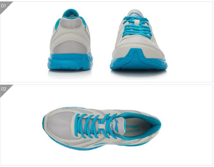 Фото Li-Ning Men Running Shoes Light Weight Breathable Skid Resistance Sneakers Cushion LiNing Sport Shoes ARBL037 XYP313