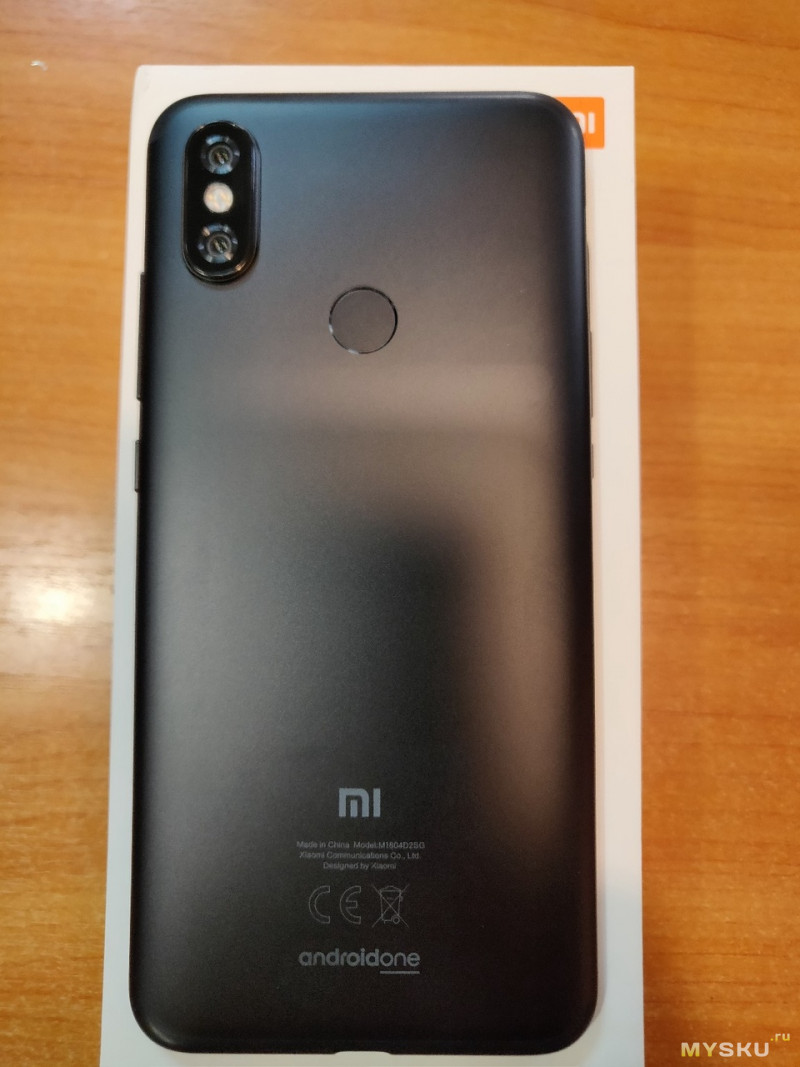 Фото Смартфон Xiaomi Mi A2. (Global Version 4GB/64GB Snapdragon 660).Быстрый обзор.