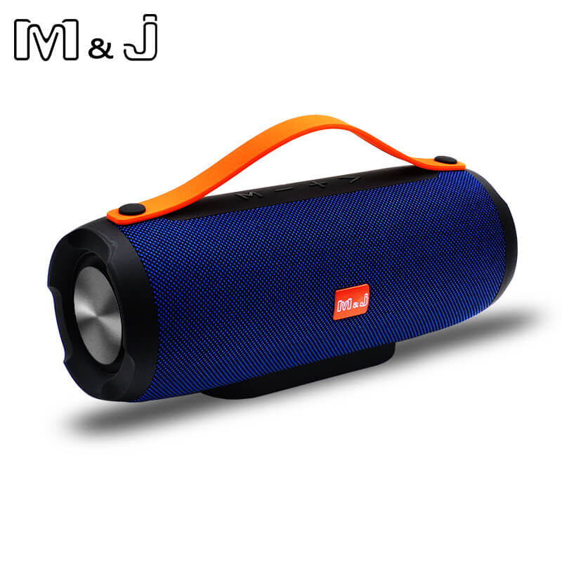 Фото M&J Portable wireless Bluetooth Speaker Stereo big power 10W system TF FM Radio Music Subwoofer Column Speakers for Computer
