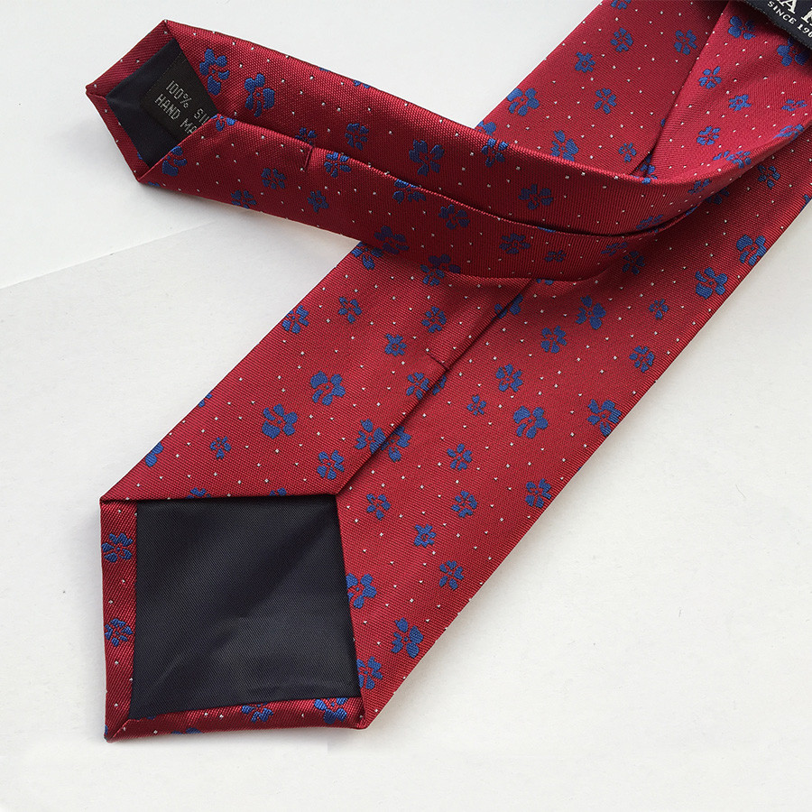 Фото Мужские галстуки Mantieqingway Brand Ties Men Polyester Ties Floral Gravata for Mens Polka Dots Business Ties Bridegroom Paisley Men Neck Ties