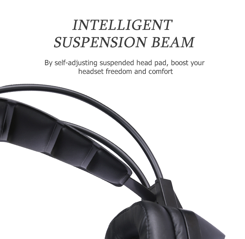 Фото Computer Gaming Headphones ihens5 Salar T9 Wired Headband Stereo Game Vibration Headset casque with Mic LED Light for PC Gamer